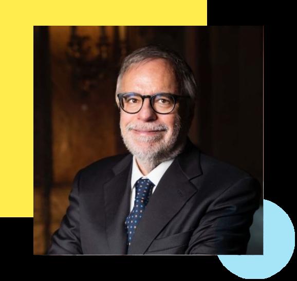 il Presidente Andrea Riccardi