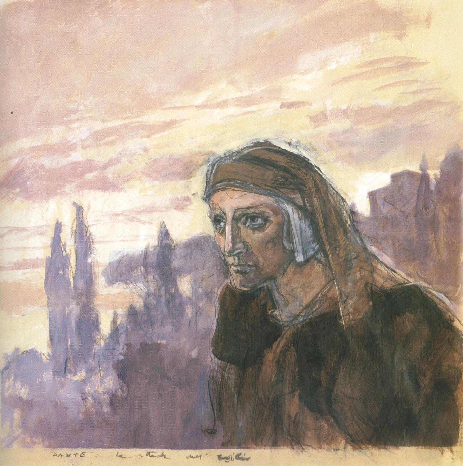 Alberto Sughi, Dante, la strada dell'esilio