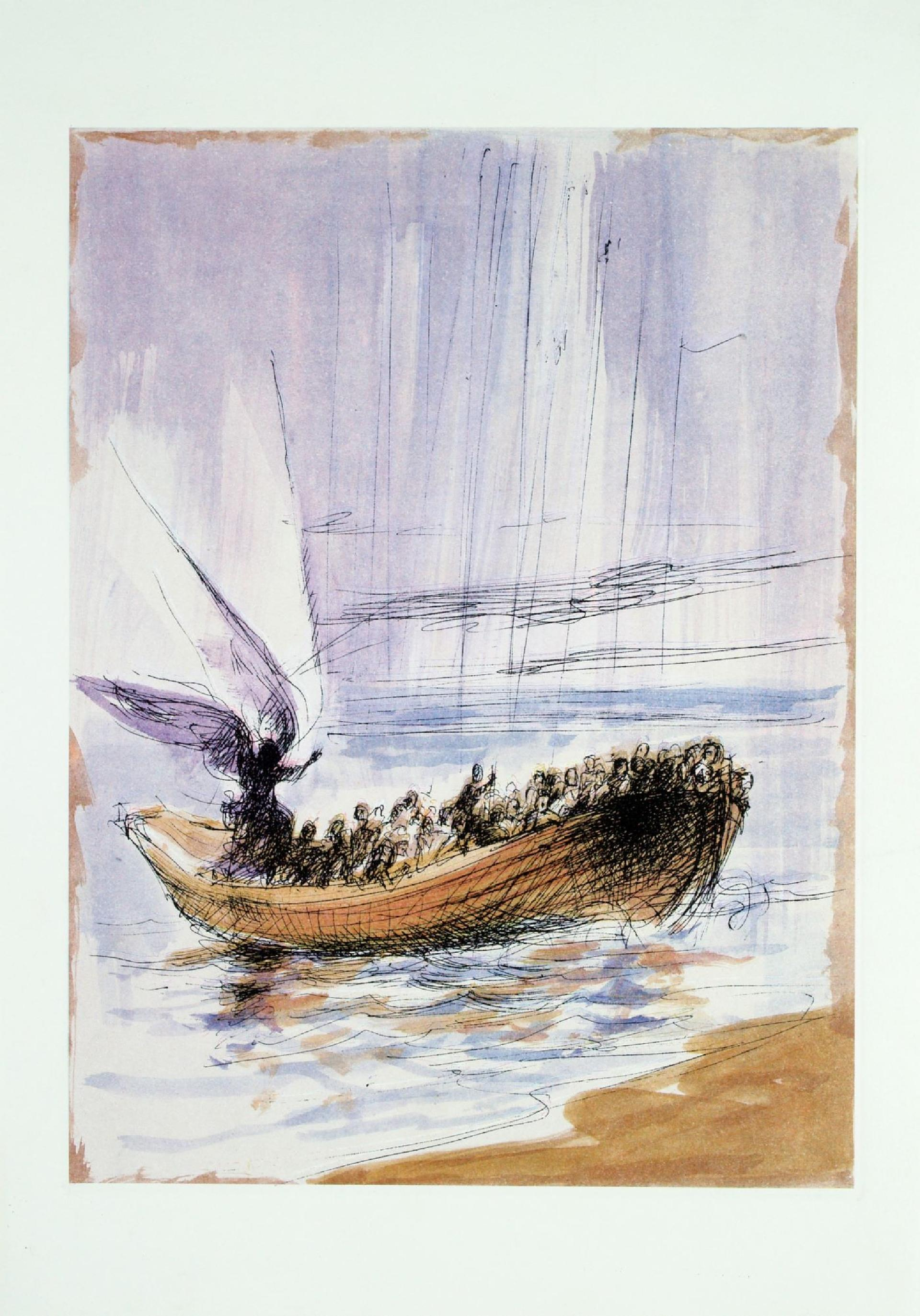 Alberto Sughi, La barca dei salvati