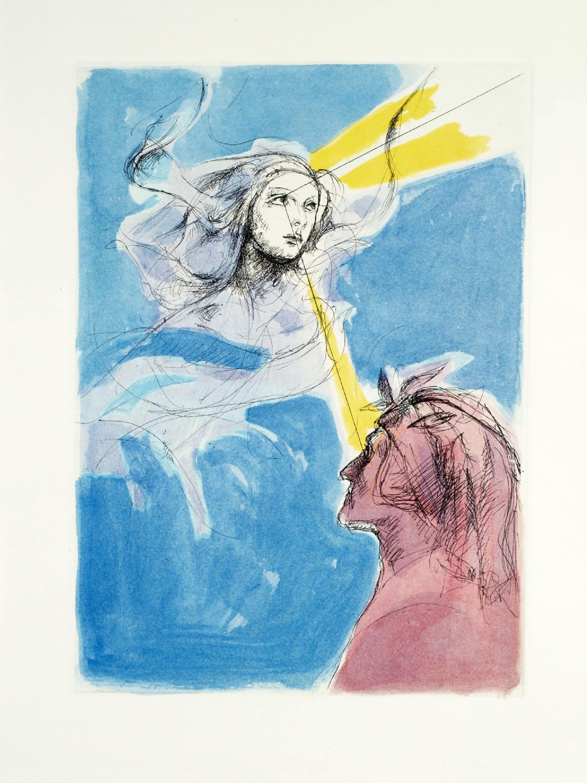 Alberto Sughi, Dante contempla Dio attraverso gli occhi di Beatrice